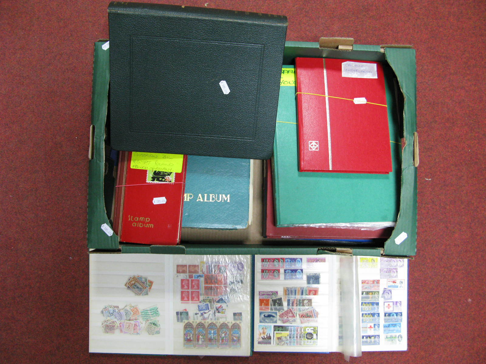 Lot 53 - A Mixed Accumulation of World Stamps in Stockbooks, many European countries represented including