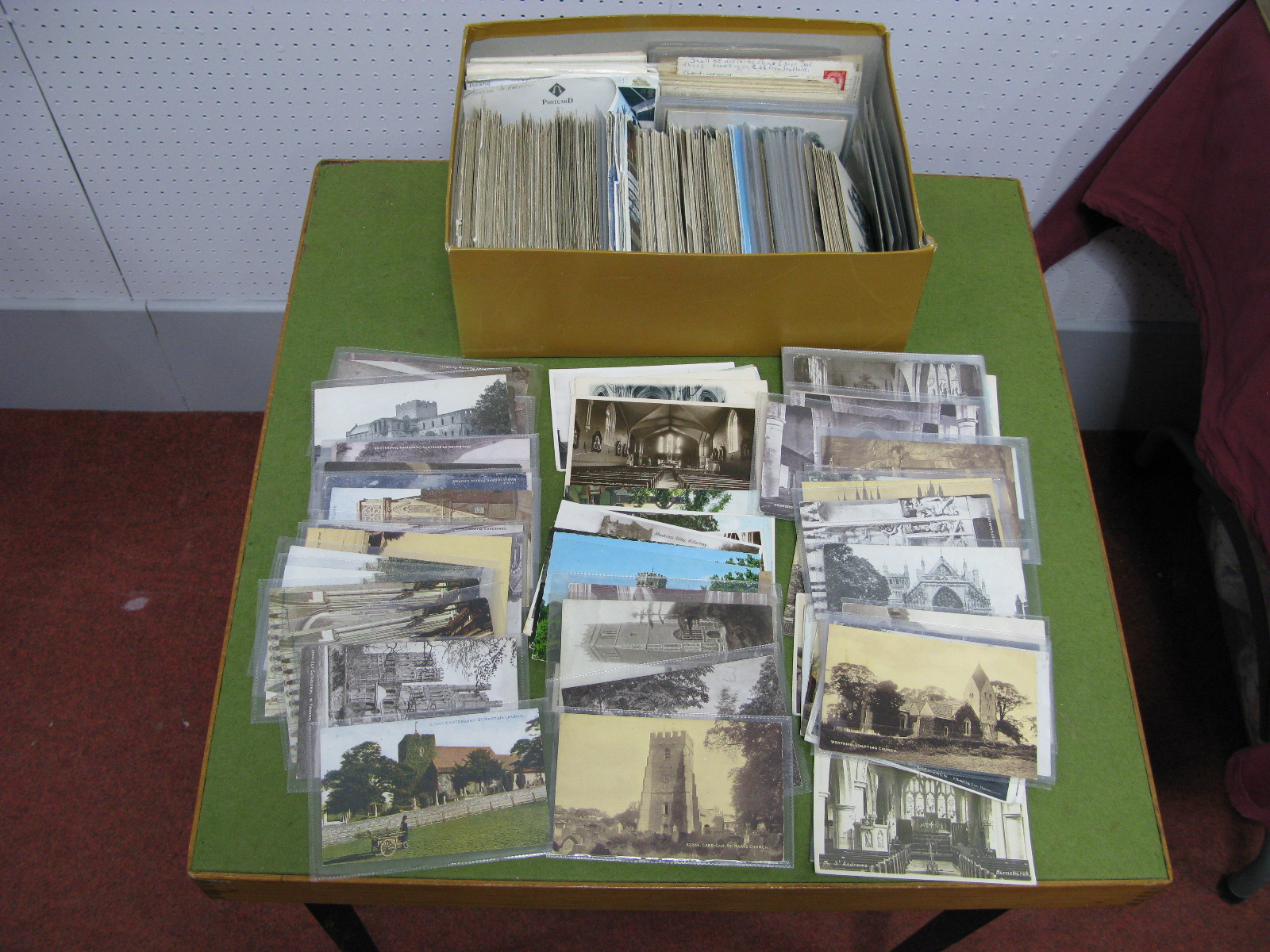 Lot 36 - Picture Postcards Mainly of Churches and Cathedrals From Early XX Century to 1980's, including