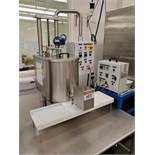 Cavalla Dosing Filler, w/ 30L double jacketed oil tank heated dup to 95C, w/ agitator, gear pump