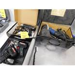 LOT: Grinder, Heat Gun, (2) Soldering Guns