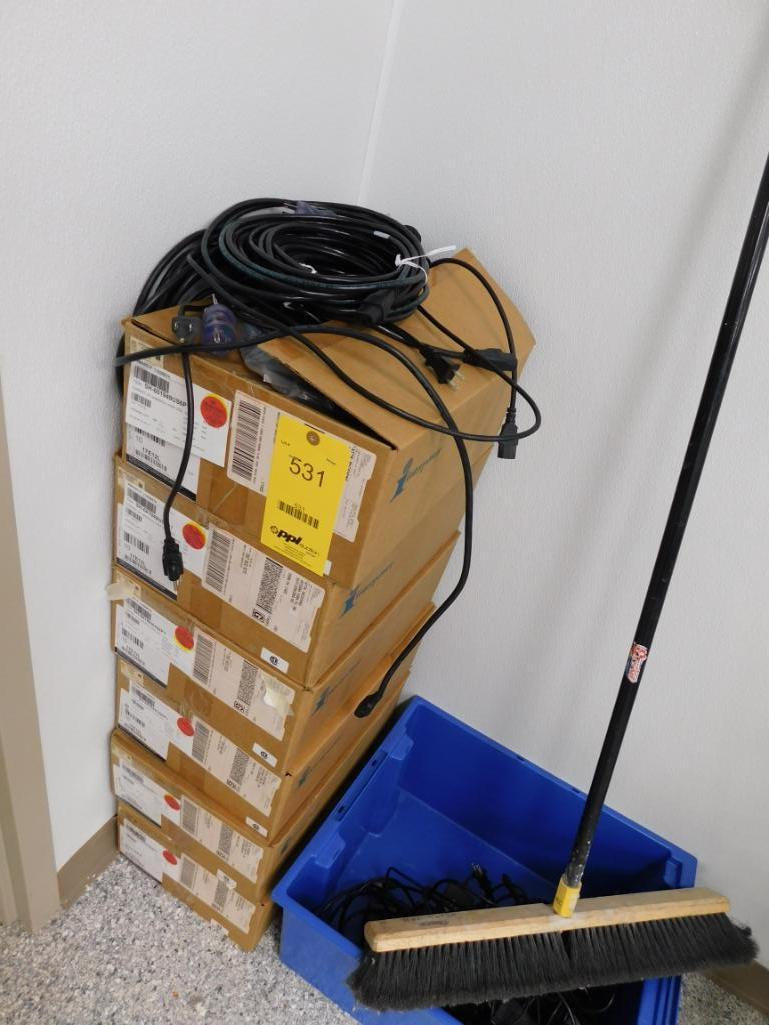LOT: Medical Grade Power Cords in (6) Boxes