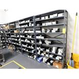 LOT: (6) Sections Steel Shelving Units (no contents)