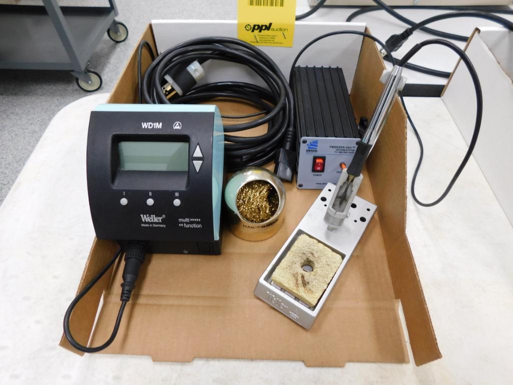 Lot 525 - Weller Soldering System Model WD-2