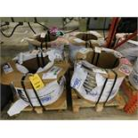 LOT: 1-1/4 in. x .013 in. 304L3 Stainless Steel Coiled Flat Stock on (4) Pallets