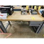 30 in. x 60 in. Maple Top Work Bench