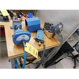 LOT: (2) Pneumatic Vises
