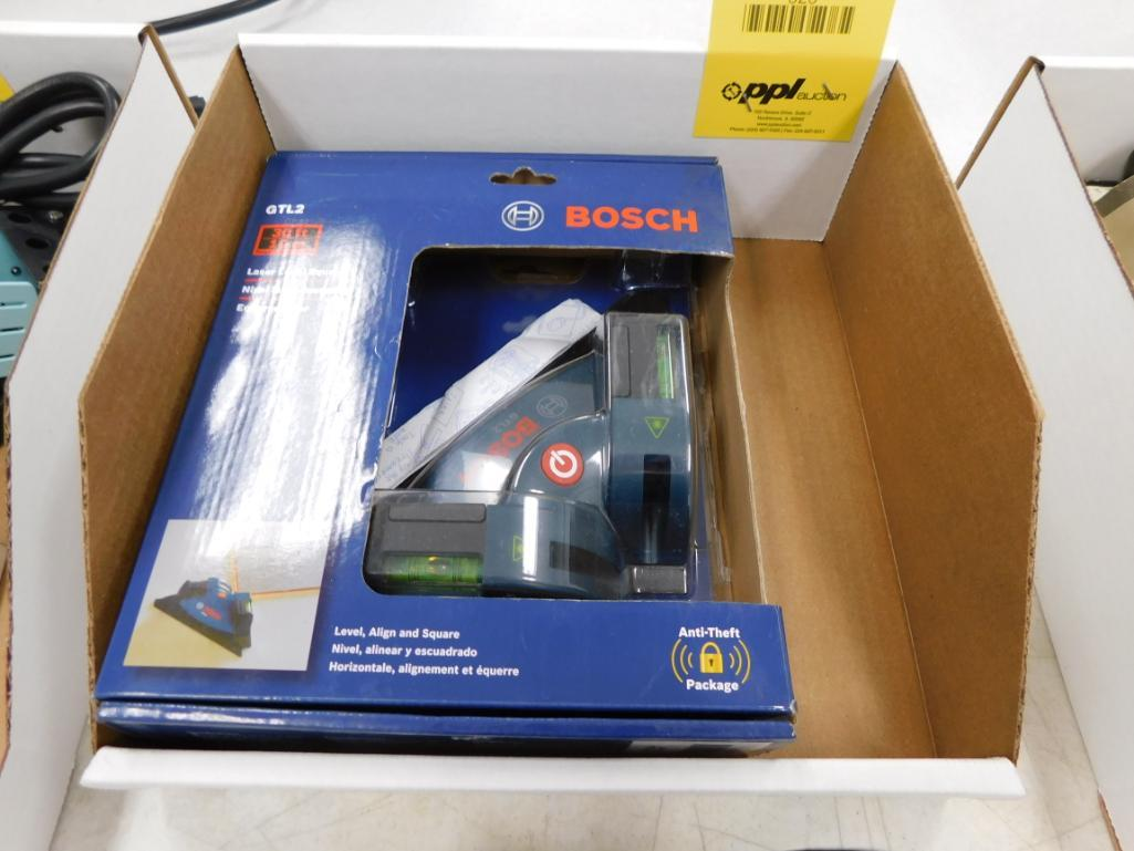 Lot 523 - Bosch Laser Level Square Model GTLZ (new)