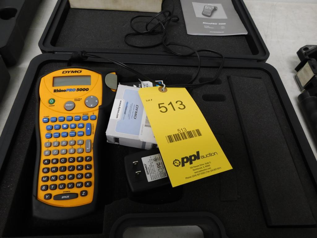 Lot 513 - Rhino Labeling System Model Pro 5000