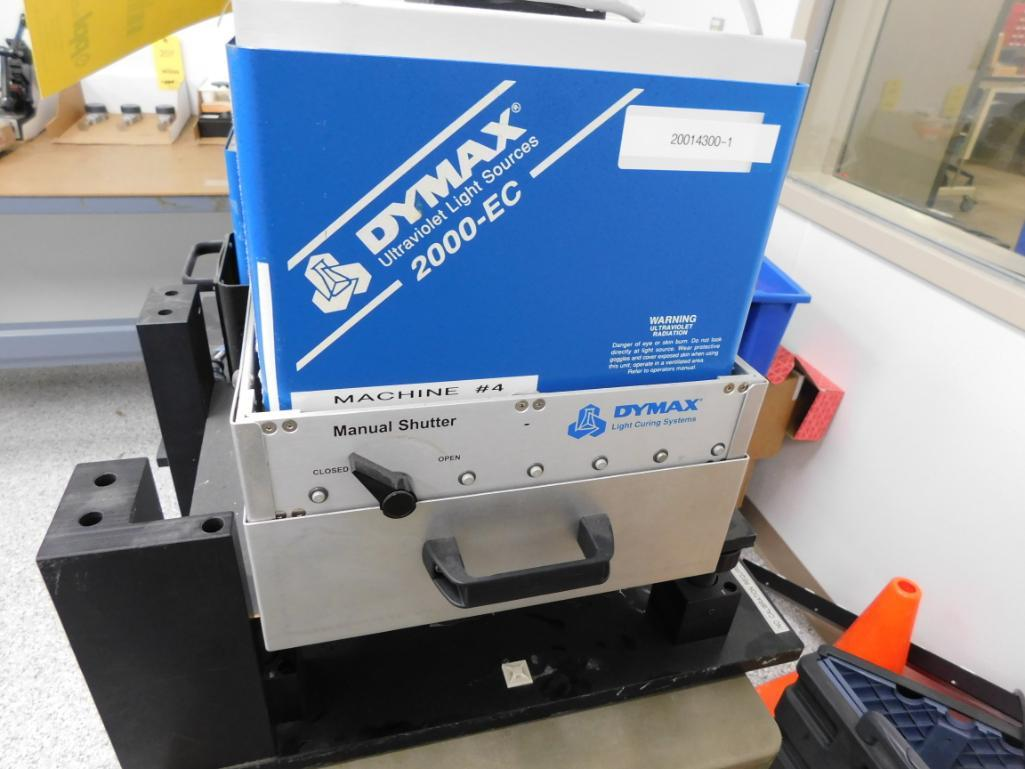 Lot 526 - Dymax Ultraviolet Light Dual Curing System