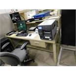 30 in. x 72 in. Steel Work Station