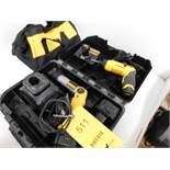 LOT: (2) Dewalt Drills, with Batteries & Chargers