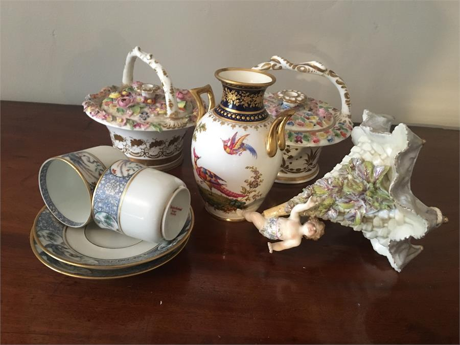 Lot 15 - Selection of porcelain mostly a/f