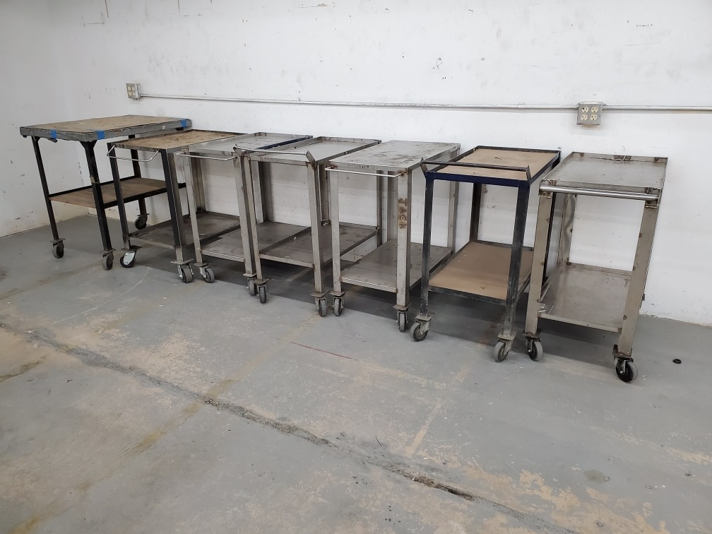 VARIOUS STEEL CARTS - Image 2 of 2