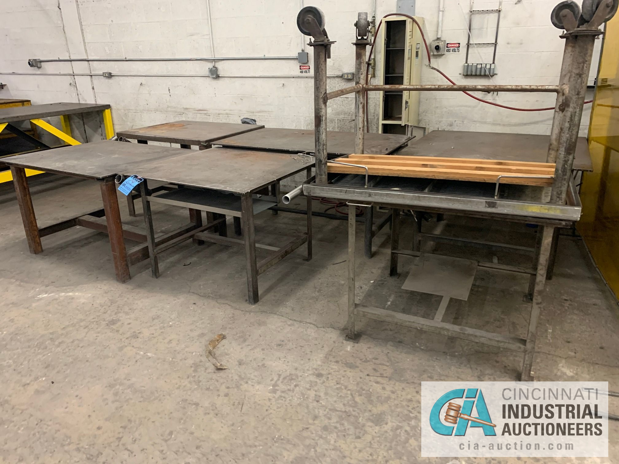 VARIOUS HEAVY WELD TABLES - Image 3 of 3