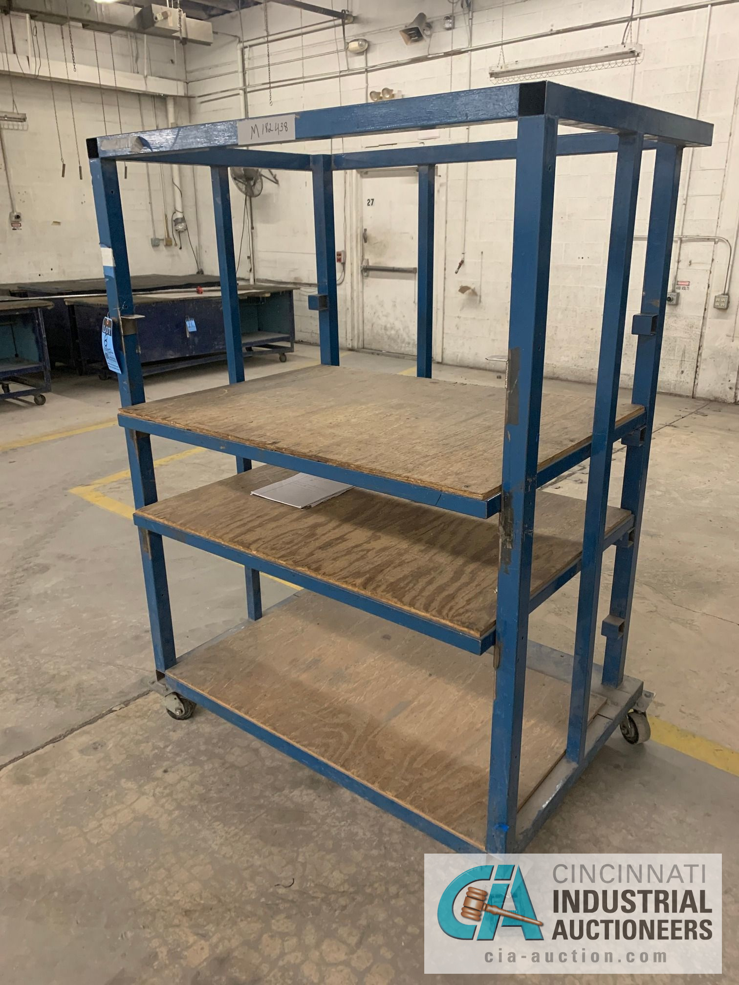 3' X 4' X 6' HIGH APPROX. MULTI-SHELF CARTS - Image 4 of 4