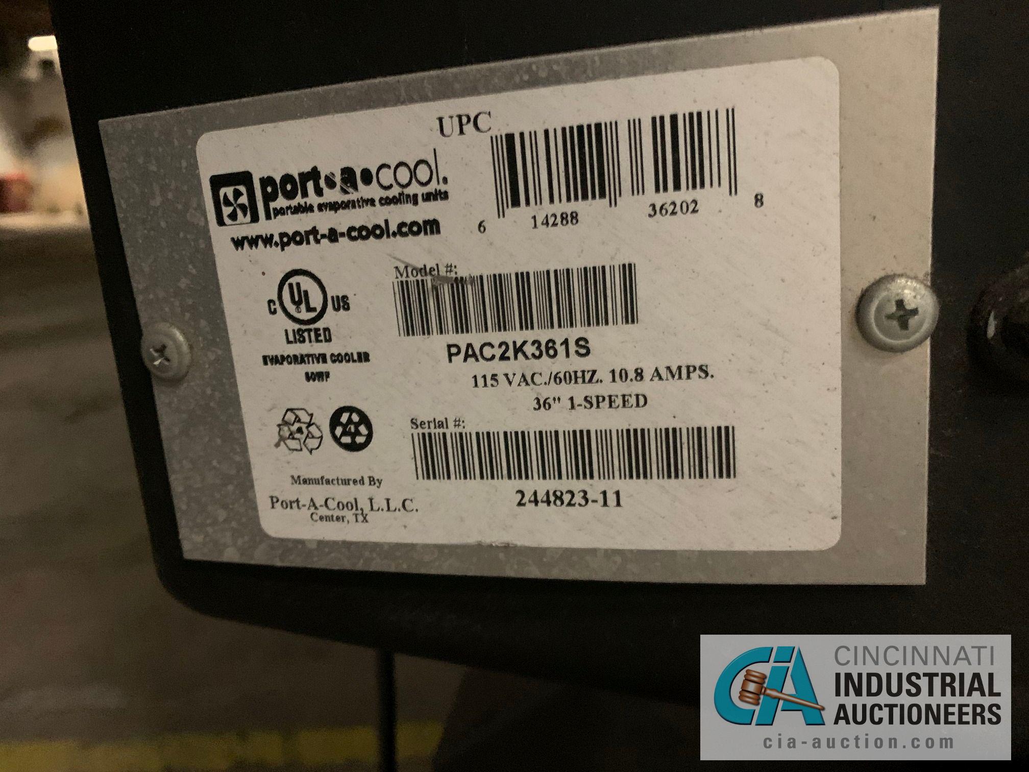 PORT-A-COOL MODEL PAC2K361S FAN - Image 3 of 3