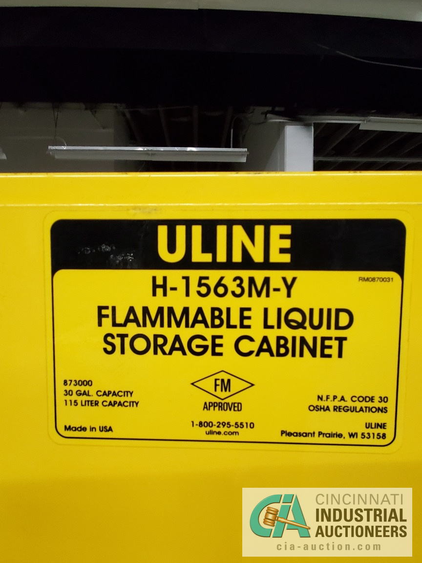 """44"""" X 18"""" X 43"""" WIDE FIREPROOF STORAGE CABINET (LIKE NEW) - Image 3 of 3"""
