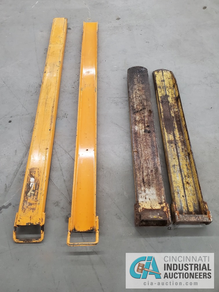 """FORK EXTENSION SETS, 72"""" LONG AND 46"""" LONG"""