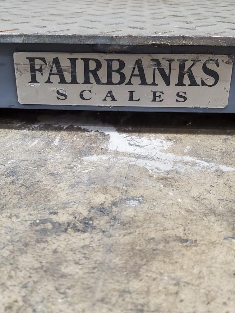 5,000 LB. FAIRBANKS DIGITAL PLATFORM SCALE - Image 2 of 4