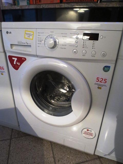 lot 525 lg f1256qd inverter direct drive washing machine serial no