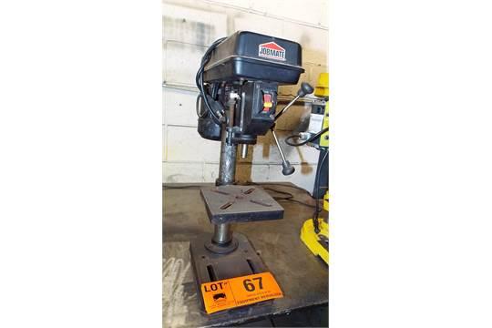 jobmate 55 5901 6 bench type drill press rh bidspotter com Drill Press Vice Craftsman Drill Press Manual