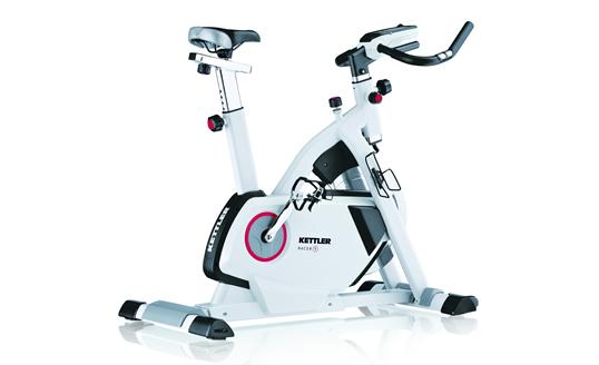 1 x boxed kettler fitness racer 3 indoor upright exercise. Black Bedroom Furniture Sets. Home Design Ideas