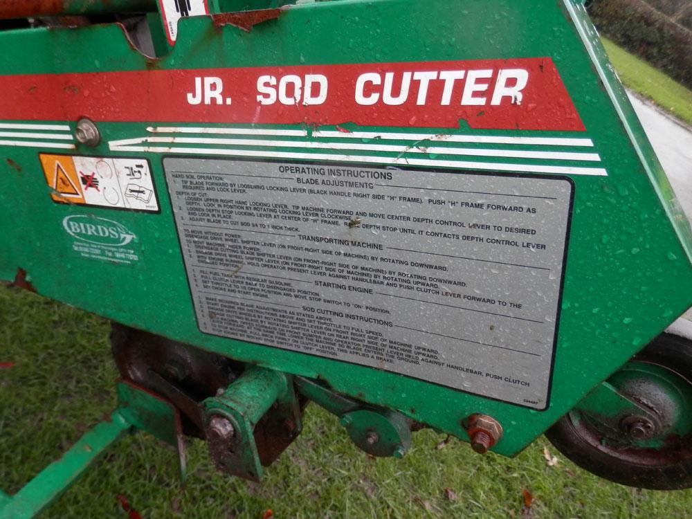 ryan jr sod cutter manual