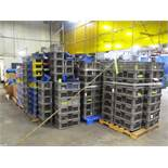 Approx (10) Pallets & Gaylord Boxes of Assorted Plastic Tote Bins