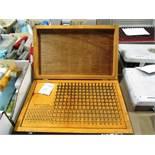Fowler 0.015'' - 0.250'' Gauge Pin Set