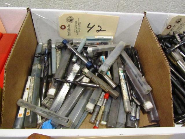 Lot 42 - Carbide Drills