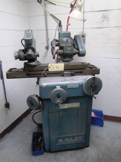 Lot 91 - K.O.Lee 6'' x 26'' Tool & Cutter Grinder with Motorized Workhead, sn:20939-MM