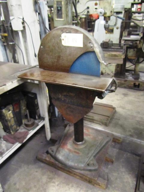Lot 116 - 20'' Heavy Duty Pedestal Disc Sander with Push Button Control