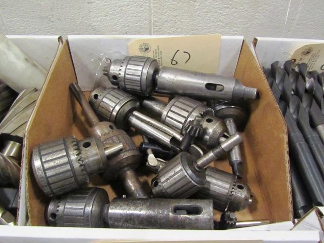 Lot 67 - Drill Chucks