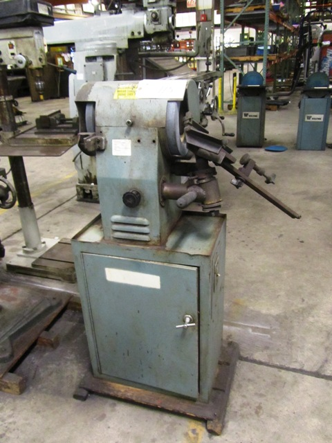 Lot 115 - 10'' Double End Drill Grinder with Cabinet