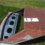 Parts to convert above car into a 2 door