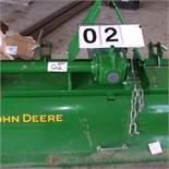 John Deere 655 rototiller, 3pth, sn: 1LV0655BHB0050505