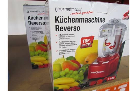 2x Gourmetmaxx Reverse Chopping Machine
