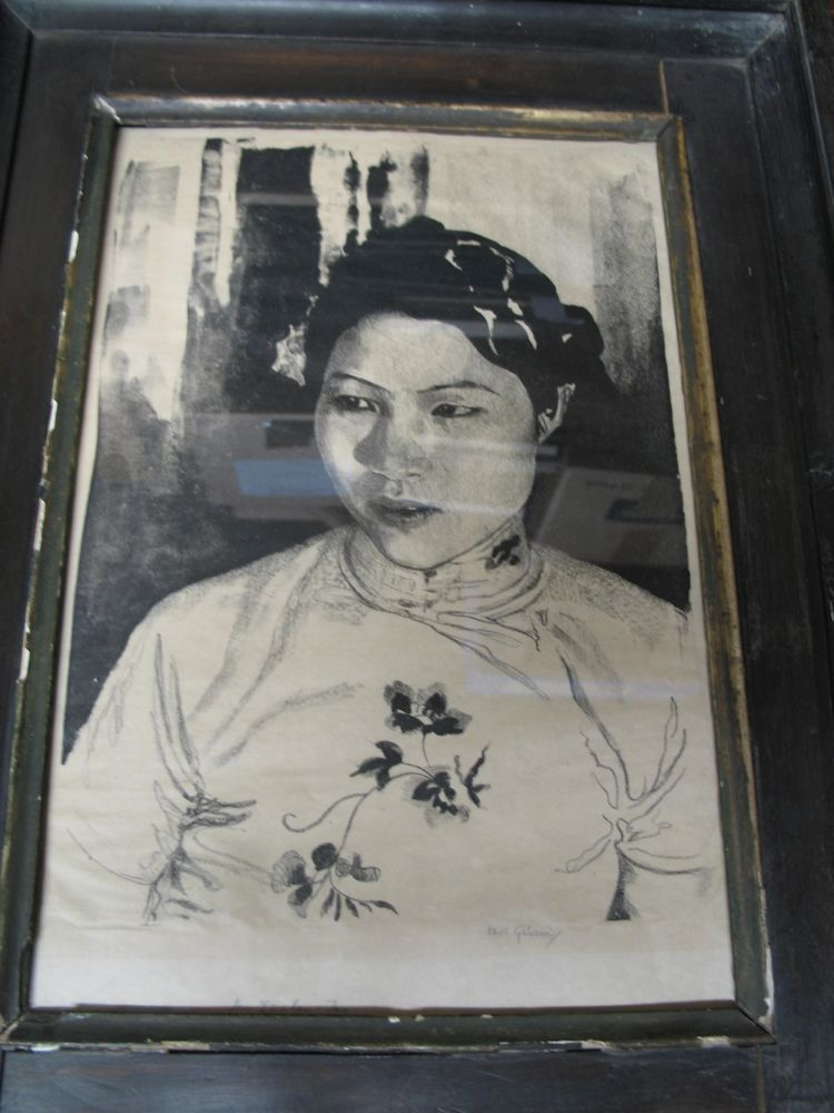 Lot 41 - CHINA: Ethel Leontine GABAIN [1883-1950], portrait of Mrs. Lu-Lan-Ta, wife of the Chinese