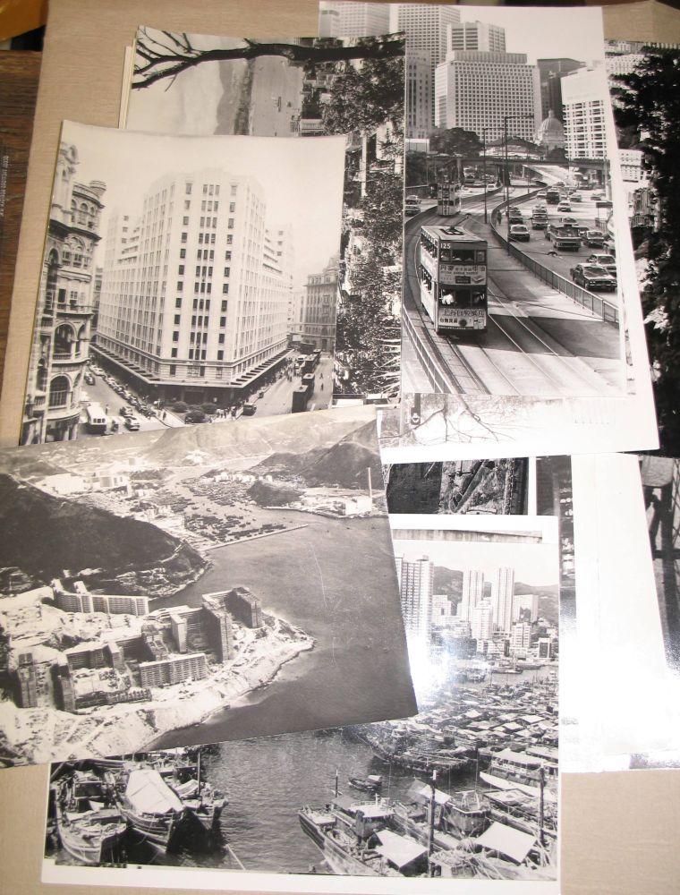 Lot 45 - PHOTOGRAPHY / HONG KONG: group of 20th century press photographs of Hong Kong.