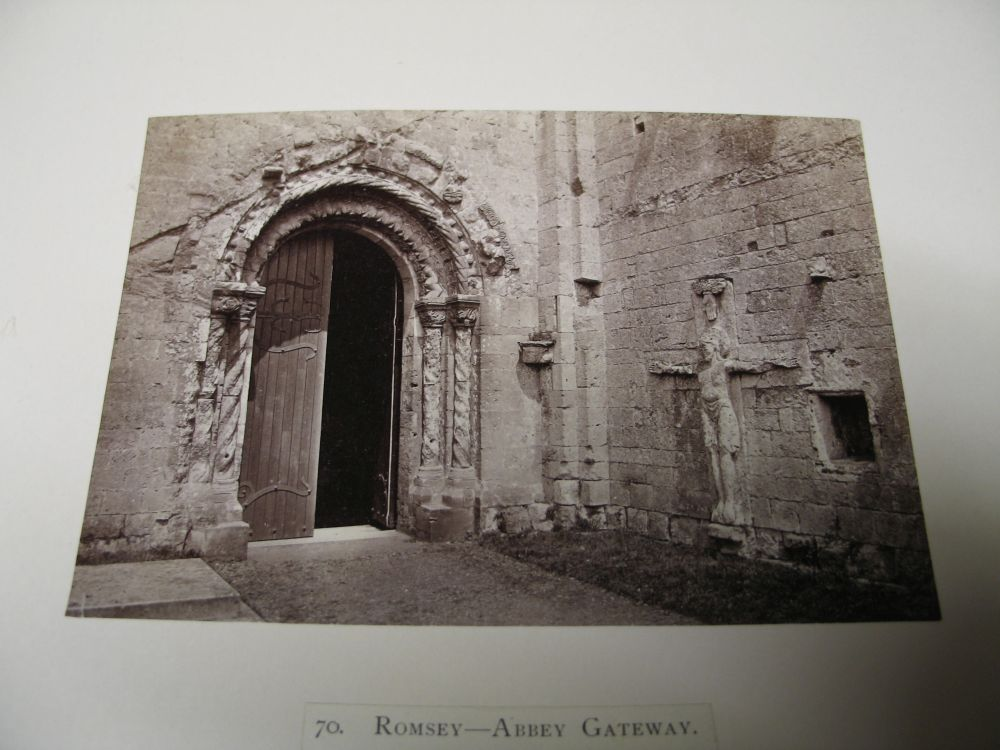 Lot 13 - PHOTOGRAPHY: Quantity of albumen photographs on card of UK locations including castles & churches.