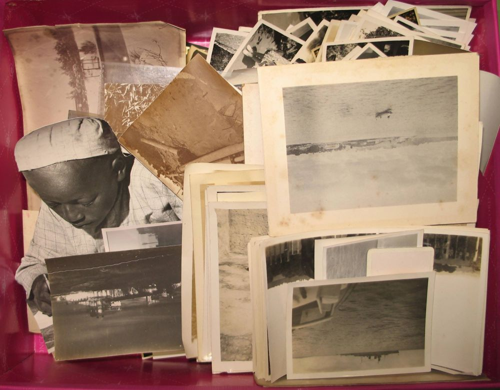 Lot 7 - PHOTOGRAPHY: Box of 19th & 20th century assorted photographs, including some Japan.