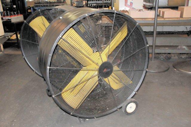 42 Inch Portable Fan : Autumaire quot portable drum fan