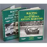 Wyer, John and Nixon, Chris - Racing with the David Brown Aston Martins', 2 vols, quarto, with d.j'