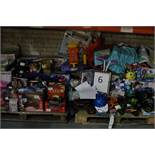 Entire Bay Containing A Large Quantity Of Childrens Toy Items To Include Remote Control Cars, Remote