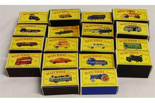 Repro Box Matchbox 1:75 Nr.33 Ford Zodiac älter