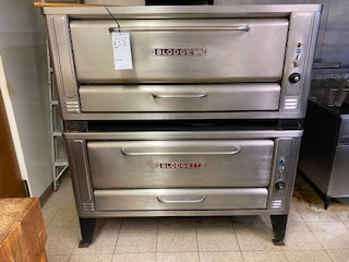 Blodgett natural gas double stackable pizza oven Extremely clean