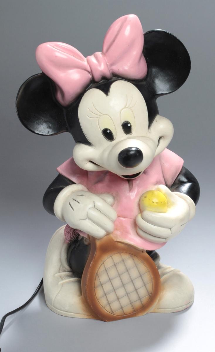Minnie Mouse-Lampe, 80er Jahre, Heico Art. 63.572 ...