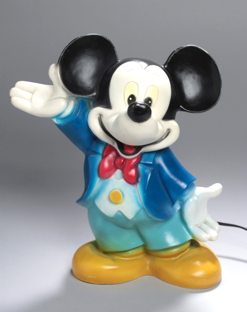 Mickey Mouse-Lampe, 80er Jahre, Heico Art. 63.571 ...