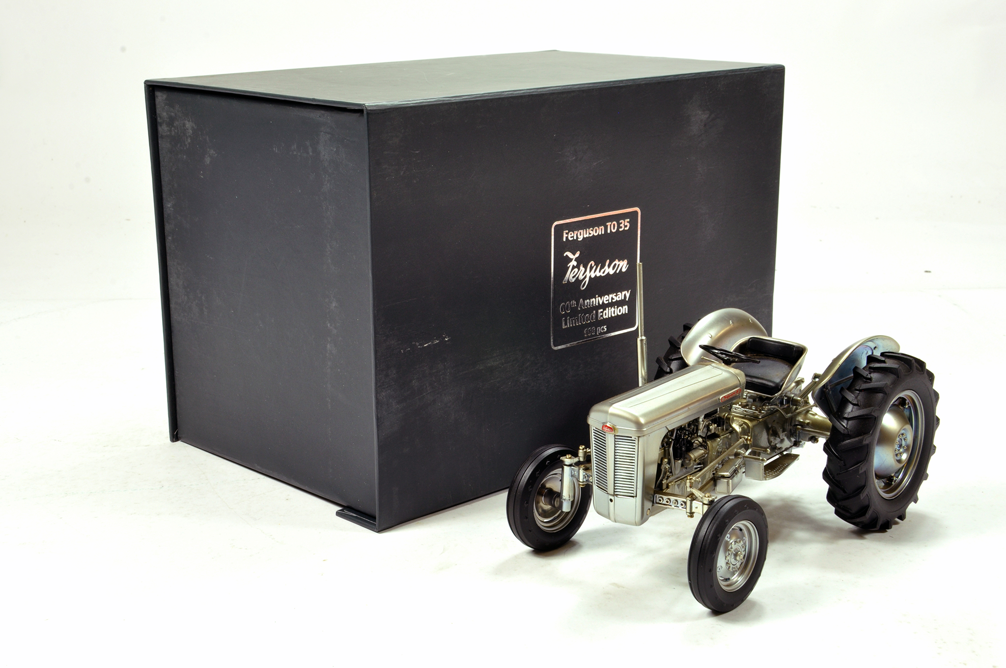 Lot 979 - Universal Hobbies 1/16 Ferguson TO35 Special Edition Tractor. Generally VG but some staining in
