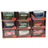EFE 1/76 diecast Bus group comprising various issues. Generally NM to M in Boxes. (9)